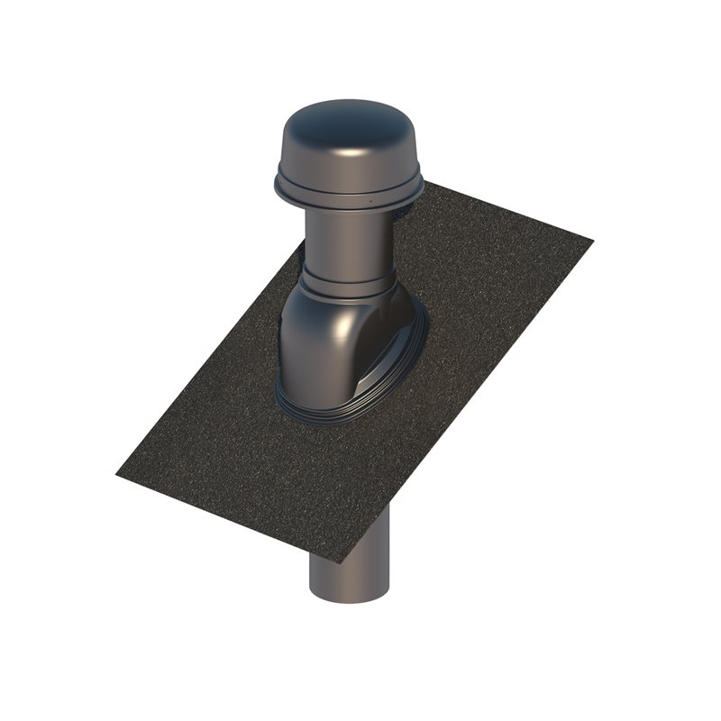 Insulated Roof Terminal 186/180 Black