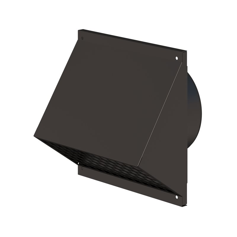 Wall Terminal 125mm Black