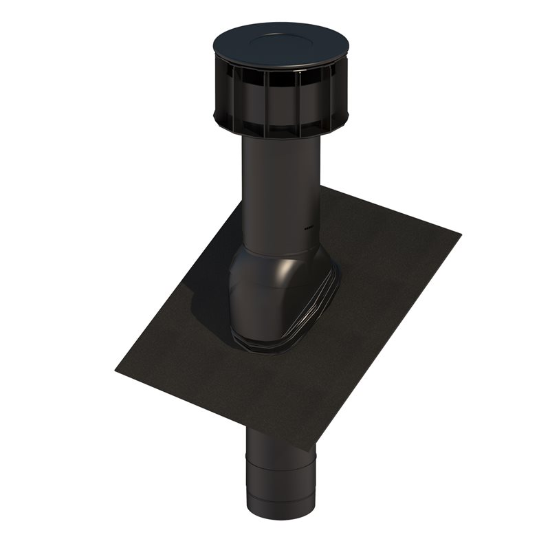 Roof Terminal UB34 MultiVent 125mm Slate
